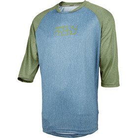 IXS Vibe 8.2 - Maillot manches courtes Homme - olive/turquoise